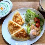 ホットケーキの朝食とゴーヤチャンプルーの夕食