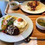 雨の日のランチと「侠飯(おとこめし)」の豚の生姜焼き