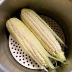 「白いトウモロコシの炊込みごはん」と辛い野菜「ふくみみ」旅の収穫とおみやげを食べる