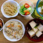 「1日14品目法」を知った日「舞茸の炊き込みご飯」ときょう食べたもの。