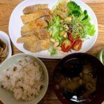 きょうから始めます「1日14品目」と「豚肉の西京漬焼き」