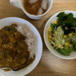 柏の喫茶店「パーラーナルシマ」で洋食ランチ、夜はうちのカレー